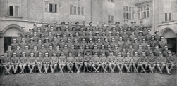 U106 'C' Company, 2nd Officer Cadet Battalion, Cambridge University, March 1917.