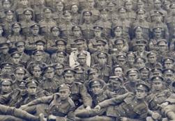 U127 Essex Regiment, Lekegian Studio Egypt, detail.