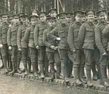 U020 9th Battalion, London Regiment (Queen Victoria's Rifles)