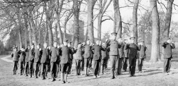 U033 A Company, 14 Btn, Northumberland Fusiliers, Chesham 1915, Swedish drill