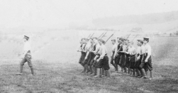 U034 Sgt Smith and 1 Section, 14 Battalion, Northumberland Fusiliers