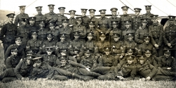 U057 Royal Sussex Regiment, Shorncliffe Camp, 31 July 1912, including Edward