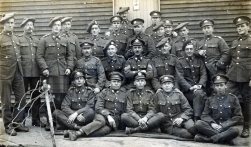 U066 First Lovat's Scouts, including M. Christensen