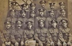 U124 298th Railway Company, Royal Engineers, France. Courtesy of Sandra Gittings.