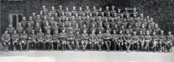 U107 A Company, 5th Officer Cadet Battalion, Trinity College, Cambridge, July 1916.