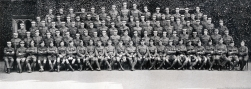 U108 B Company, 5th Officer Cadet Battalion, Trinity College, Cambridge, July 1916.