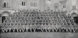 U106 'C' Company, 2nd Officer Cadet Battalion, Cambridge University, March 1917.