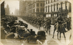 U128 The Ulster Division, 8th May 1915, Cyclist Corps. Courtesy of Barbara McClune.