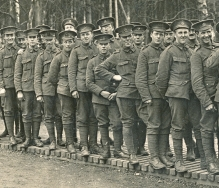 U020 9th Battalion, London Regiment (Queen Victoria's Rifles)