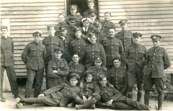 U035 Mixed group Royal Engineers, Royal Flying Corps, naval, Halton Camp East, Wendover