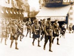 U063 Scottish regiment, France