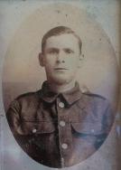 A419 Corporal Edgar Westley, 1st Squadron, Machine Gun Corps, died 21 August 1918. Courtesy of Paul Hughes.