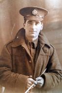 A387 Edward Morgan from Gorseinon, rifle battalion, London Regiment. Courtesy of Frisby13.