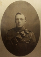 A399 Private 310700 Edwin Smith, Warwickshire Yeomanry.Courtesy of Paul Hughes.