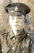 A058 Unnamed soldier, The Royal Sussex Regiment