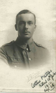 A424 Arthur Phillips, killed 10 July 1916. Courtesy of Daisy.