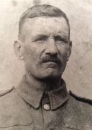 A423 Charles Brotheridge, Royal Engineers, conscripted April 1918 aged 50. Courtesy of Paul Hughes.