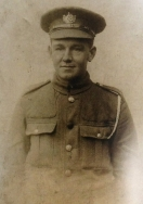 A397 Lance Corporal 10105 Alfred John Bruce. Courtesy of Paul Hughes.