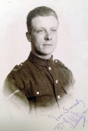 A425 Lance Corporal J. W. Moore, Royal Field Artillery. Courtesy of Paul Hughes.