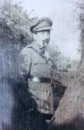 A418 Lieutenant Geoffrey Palmer, 153 Company, Royal Engineers, died 19 November 1915. Courtesy of Paul Hughes.