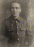 A398 Pte 21631 James Court, 15th Battalion. Cheshire Regiment. killed in action at Bapaume March 1918. Courtesy of Paul Hughes.