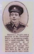 A410 Ernest Clifford Plane of Nyland, Welch Regiment. killed 30 November 1915 age 16. Courtesy of Paul Hughes.