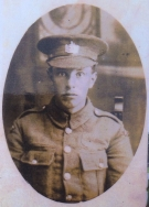 A417 John Oliver, Machine Gun Corps, and Gloucestershire Regiment, killed 1 July 1916. Courtesy of Paul Hughes.