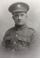 A400 Private Richard Hughes, 13th Battalion, Devonshire Regiment. Courtesy of Paul Hughes.