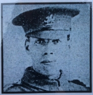 A415 Rifleman Ivor Robert Williams of Newport, 1st Battalion, Monmouthshire Regiment. killed 1 July 1916, aged 20. Courtesy of Paul Hughes.
