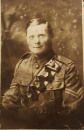 A405 Stanley Henry Adams, 14th Battalion, Royal Warwickshire, Welsh Horse. Courtesy of Daisy.