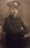 A401 Thomas J Bickely, 2/5th Battalion, Gloucestershire Regiment. Courtesy of Paul Hughes.