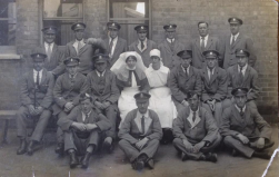WO98 Great War wounded, 1920. Courtesy of Paul Hughes.
