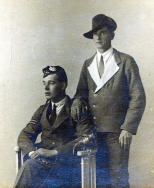 WO96 Wounded corporal and pal.