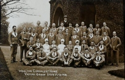 WO81 Mixed wounded group, Woolton, Liverpool. Courtesy of @AngelJCake