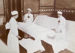 WO87 Cheltenham Ladies College ladies training as nurses