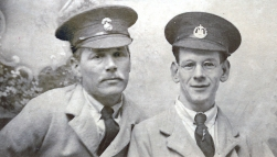 W069 Wounded pals, Northumberland Fusiliers and the Dorset Regiment, Moor Park Hospital, Preston