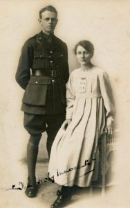 Arthur, Essex Regiment, and Eva w