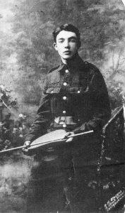 B443 Richard Burd, 2nd Battalion, Royal Welsh Fusiliers, courtesy of Paul Burd