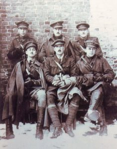 G610 A group of officers 1916, Griffiths family, Chipping Campden, courtesy of Paul Hughes.
