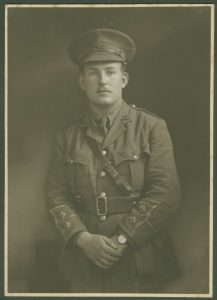A597 Jesse Hind 9th Battalion, Sherwood Foresters, killed 27th September, 1916, Courtesy of Michale Briggs