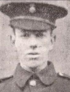 A598 John Evans, 13th Battalion, Royal Welsh Fusilers,  died 22 April 1918 courtesy of Robert Evans
