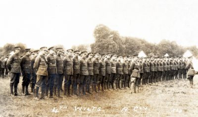 Wiltshire Regiment Archives - WW1Photos org