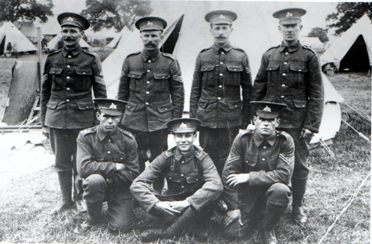 G857 Men Of The Pickard Family 5th Battalion